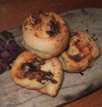 Dulse and Cheddar Chelsea  Buns