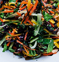 Colourful Beetroot salad with mixed seaweeds