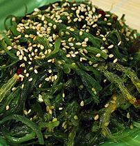 Tuna and Seaweed salad